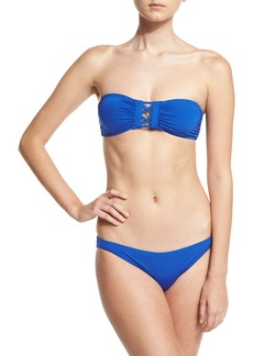 Proenza Schouler Solid Bandeau Two-Piece Swimsuit