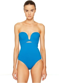 Proenza Schouler Solids Molded One-Piece Swimsuit
