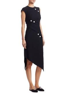 Proenza Schouler Spiral Button Dress