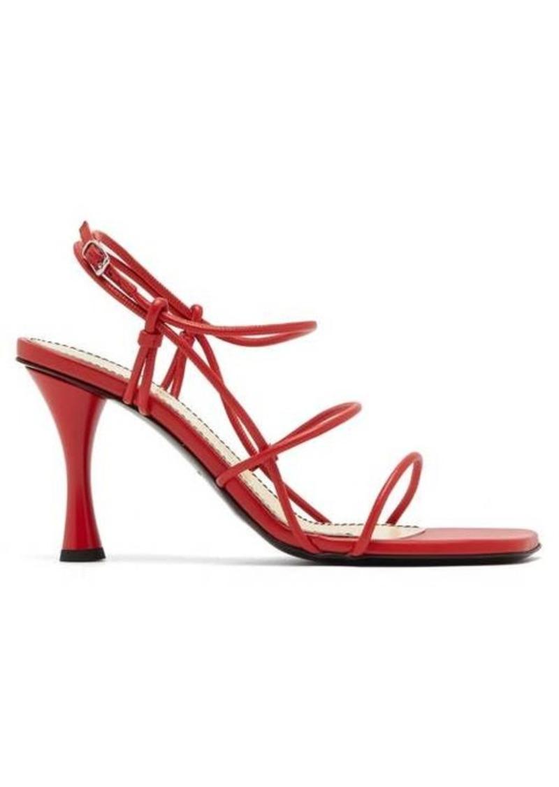 Proenza Schouler Square-toe leather sandals