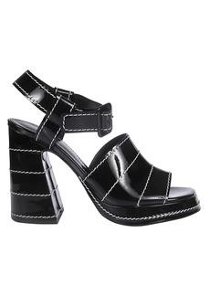 Proenza Schouler Stitch Detail Platform Sandals