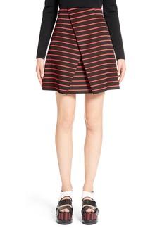 Proenza Schouler Stripe Jacquard Skirt