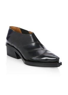 Proenza Schouler Striped Tonal Leather Booties
