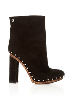 Proenza Schouler Stud-embellished suede ankle boots