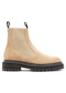 Proenza Schouler Suede chelsea boots