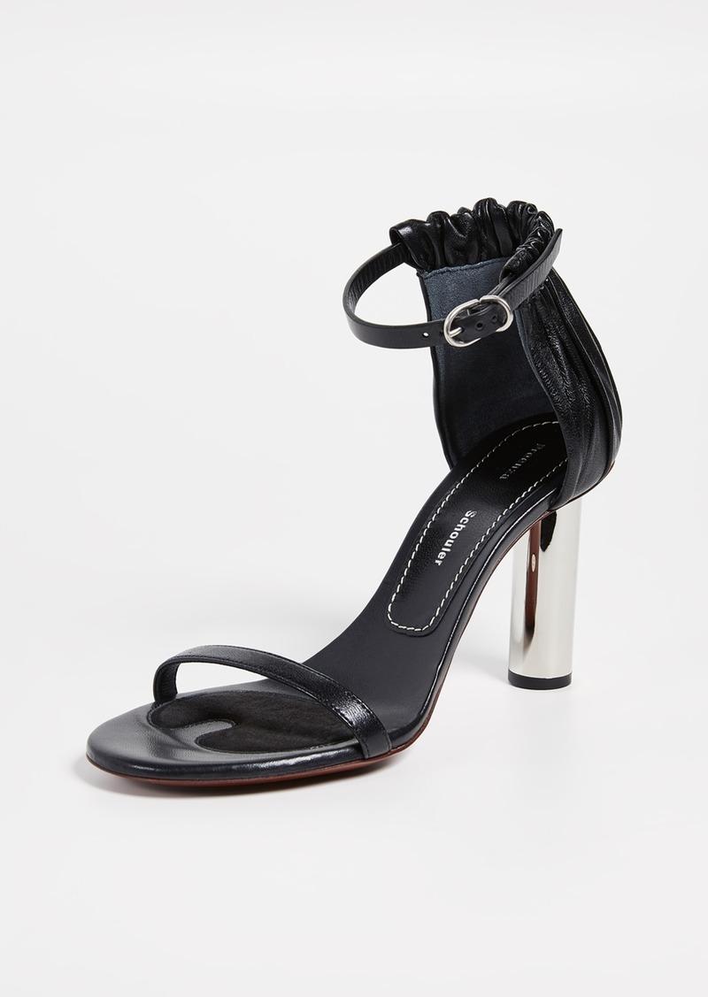 Proenza Schouler Tall Silver Sandals