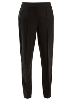 Proenza Schouler Tapered-leg wool-blend trousers