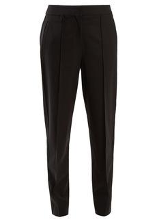 Proenza Schouler Tapered-leg wool-blend trousers