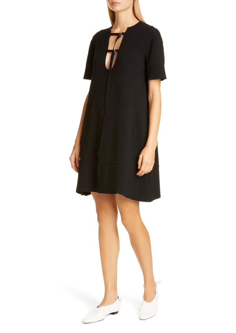 Proenza Schouler Tie Detail Jersey Dress