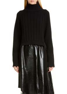 Proenza Schouler Tie Detail Turtleneck Sweater