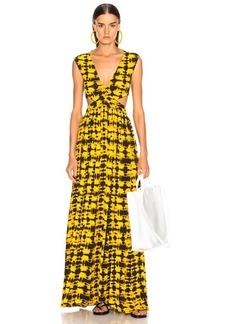 Proenza Schouler Tie Dye Maxi Dress