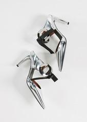 Proenza Schouler Tie High Heel Mules