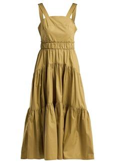 Proenza Schouler Tiered cotton-poplin dress