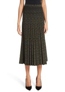 Proenza Schouler Tiger Stripe Jacquard Skirt