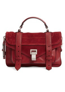 Proenza Schouler Tiny PS1 Luxe Leather Satchel