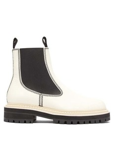 Proenza Schouler Tread-sole leather ankle boots