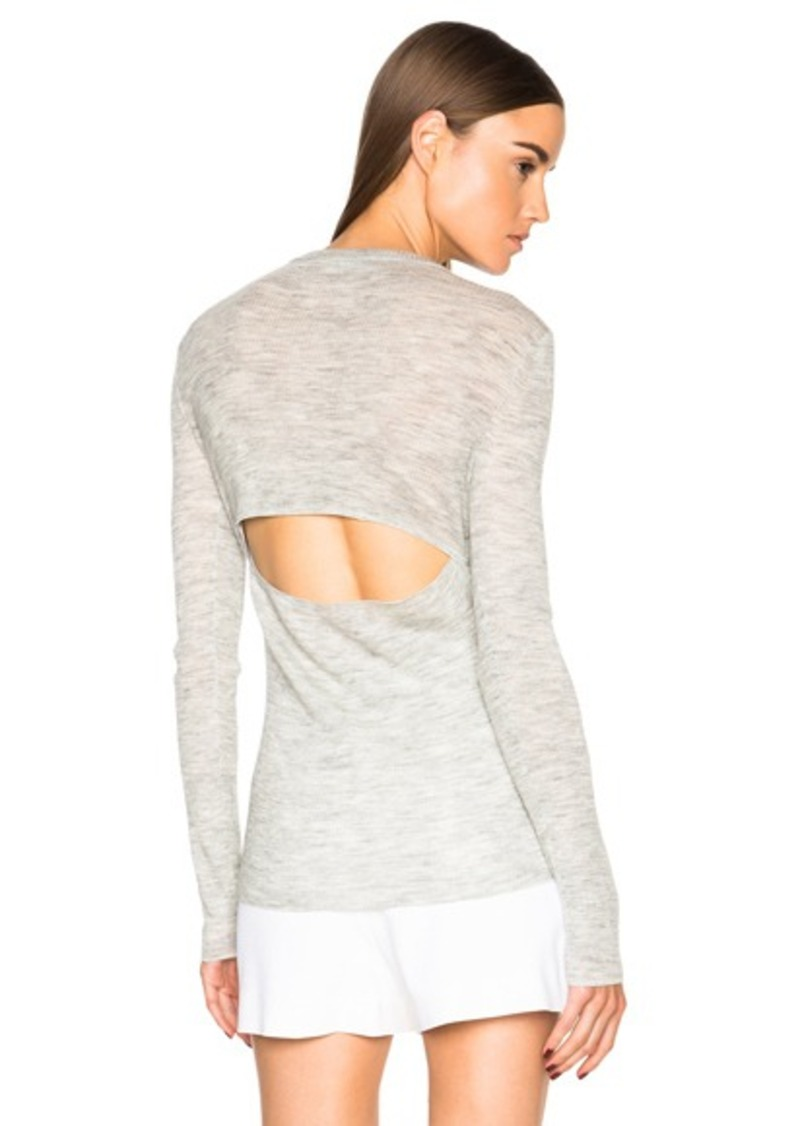 Proenza Schouler Ultrafine Rib Crewneck Sweater