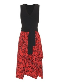 Proenza Schouler V-neck layered dress