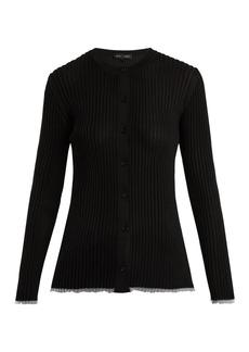 Proenza Schouler V-neck ribbed-knit cardigan