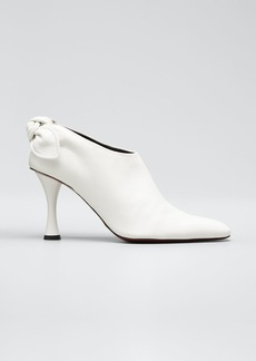 Proenza Schouler Vase Knotted Leather Booties