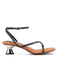 Proenza Schouler Vase sculptural-heel leather sandals