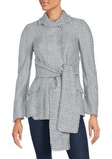 Proenza Schouler Waist Tie Sweater Jacket
