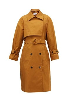 Proenza Schouler White Label Belted stretch-cotton trench coat