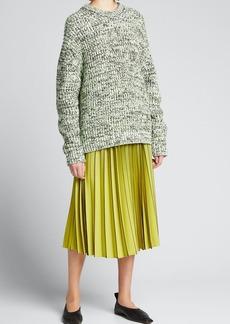 Proenza Schouler White Label Mixed Yarns Knit Sweater