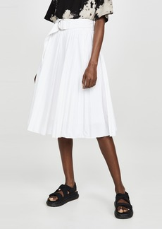 Proenza Schouler White Label Pleated Parachute Skirt