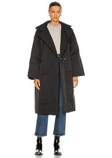 Proenza Schouler White Label Puffer Long Coat