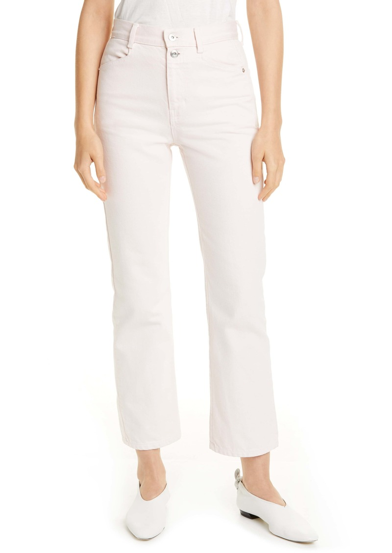 Proenza Schouler White Label Stovepipe Jeans (Dusty Pink)