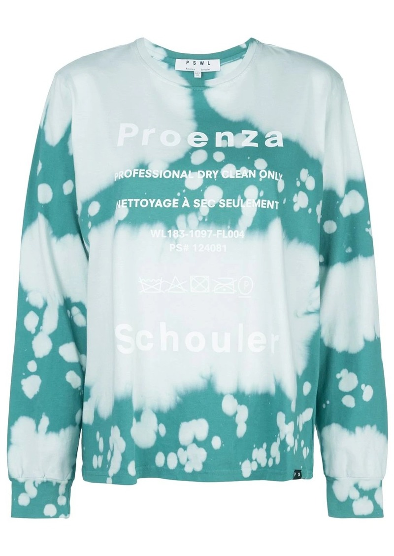 Proenza Schouler bleached effect T-shirt