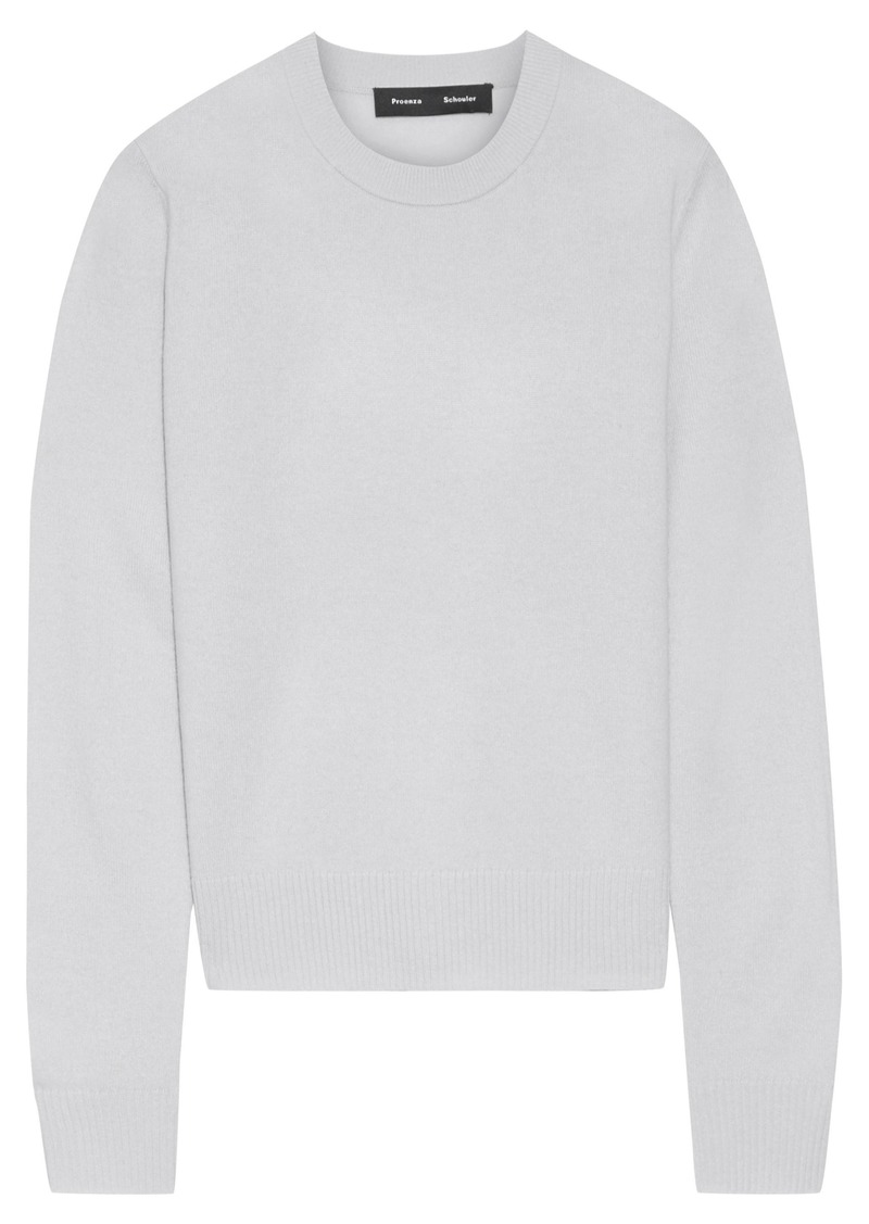 Proenza Schouler Woman Cashmere Sweater Light Gray