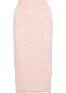 Proenza Schouler Woman Cloqué-tulle Pencil Skirt Baby Pink