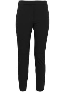 Proenza Schouler Woman Cropped Stretch-crepe Skinny Pants Black