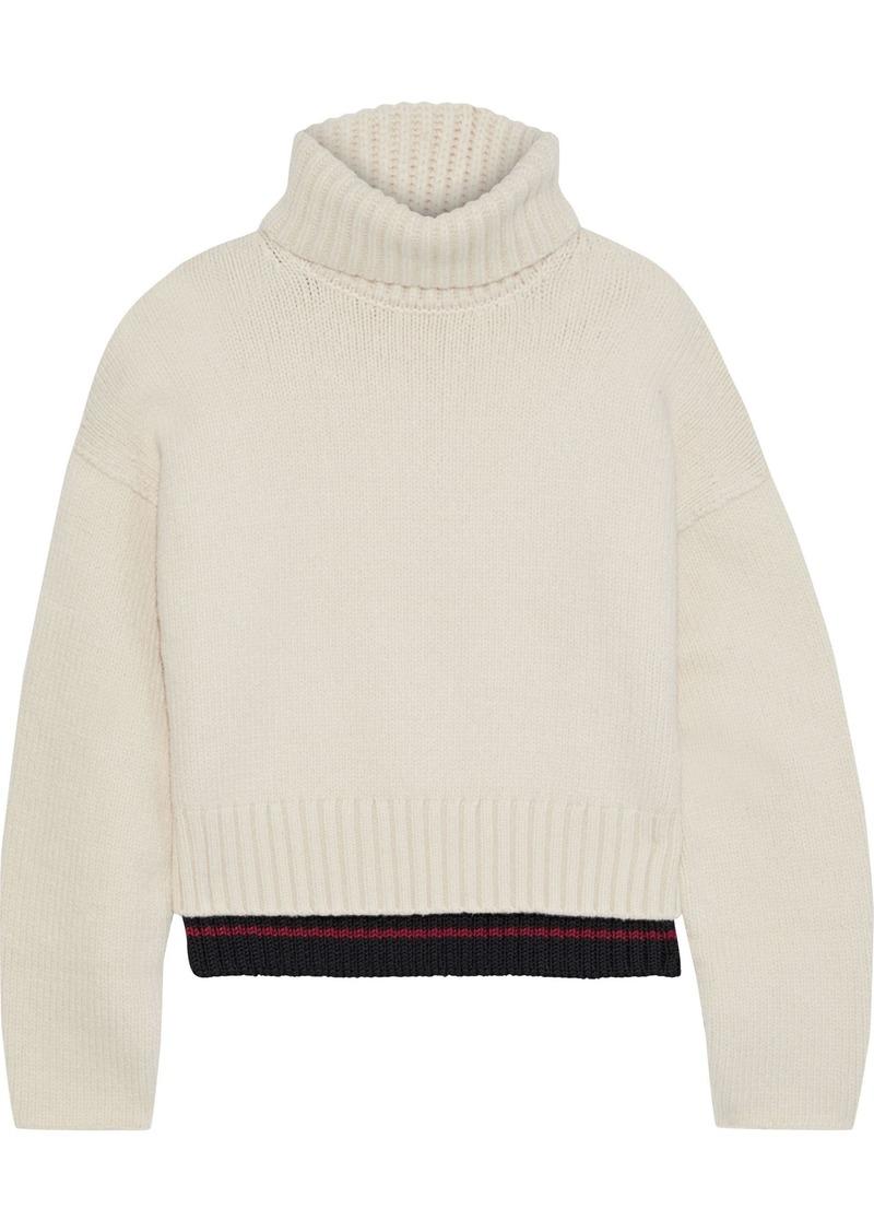 Proenza Schouler Woman Knitted Turtleneck Sweater Ecru