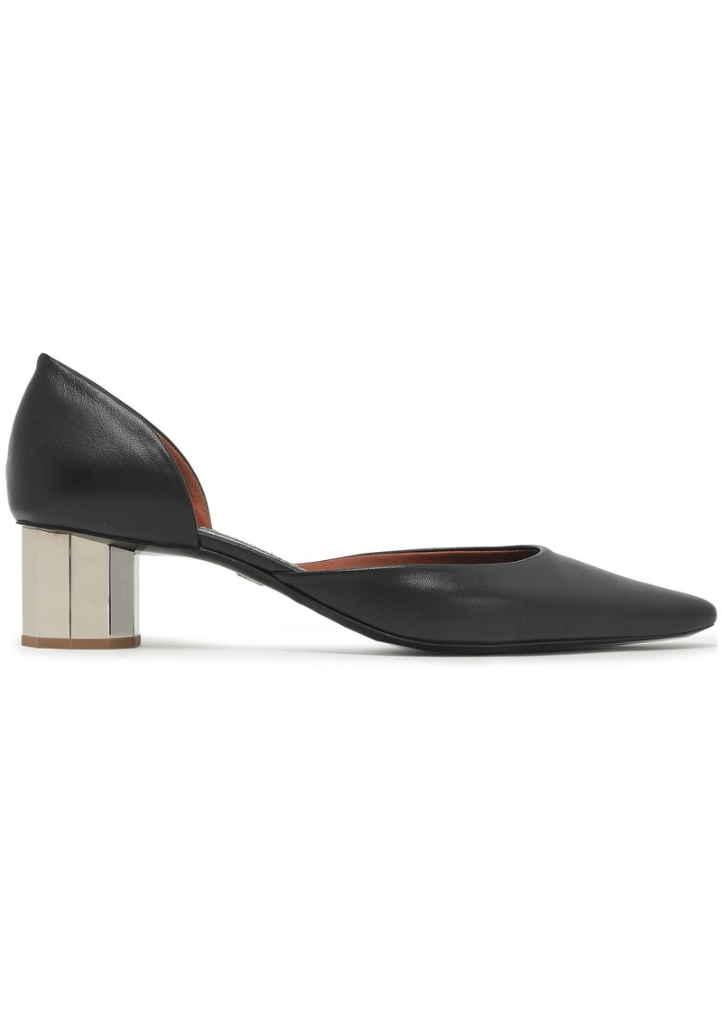 Proenza Schouler Woman Leather Pumps Black