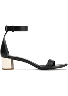Proenza Schouler Woman Leather Sandals Black