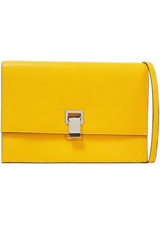 Proenza Schouler Woman Lunch Bag Textured-leather Shoulder Bag Marigold