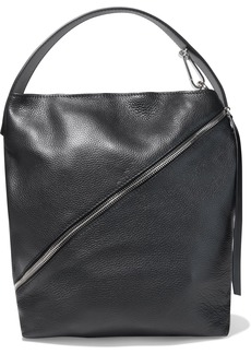 Proenza Schouler Woman Medium Pebbled-leather Shoulder Bag Black