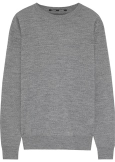 Proenza Schouler Woman Melangé Merino Wool Sweater Anthracite