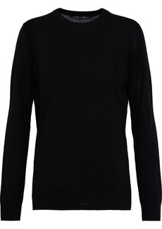 Proenza Schouler Woman Merino Wool Sweater Black