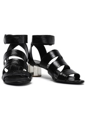 Proenza Schouler Woman Patent-leather Sandals Black