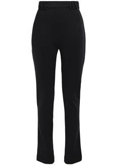 Proenza Schouler Woman Ponte Slim-leg Pants Black