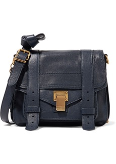 Proenza Schouler Woman Ps1 Mini Leather Shoulder Bag Navy