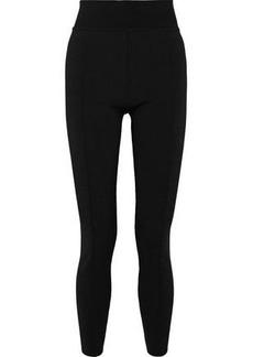 Proenza Schouler Woman Ribbed-knit Leggings Black