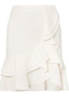 Proenza Schouler Woman Ruffled Crepe Skirt Ivory