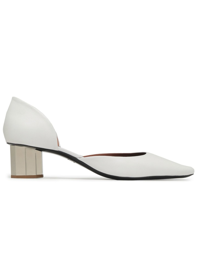 Proenza Schouler Woman Solanil Leather Pumps White