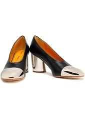 Proenza Schouler Woman Two-tone Leather Pumps Black