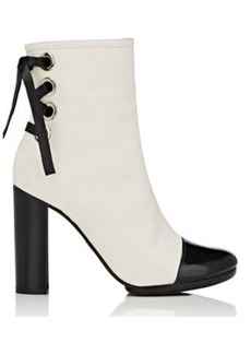Proenza Schouler Women's Cap-Toe Leather Ankle Boots